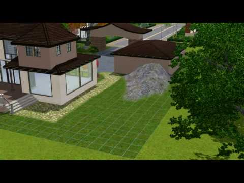 The sims 3 house building - daydream 55 - part 2 - Landscaping