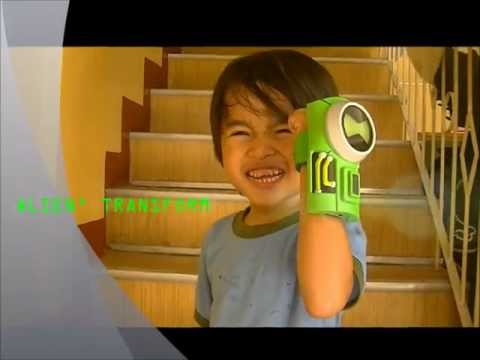 THE REAL Ben 10 Ultimatrix Swamp Fire Toy Review Ultimate Alien Force Omnytrix And Costume by Khyle