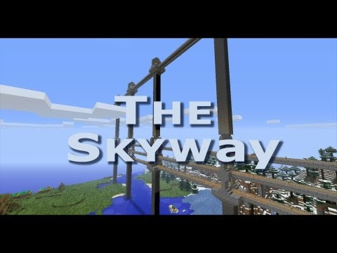 Minecraft Skyway Train Station