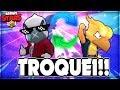 TROQUEI DE CORVO E DEU BOM NO COMBATE! BRAWL STARS