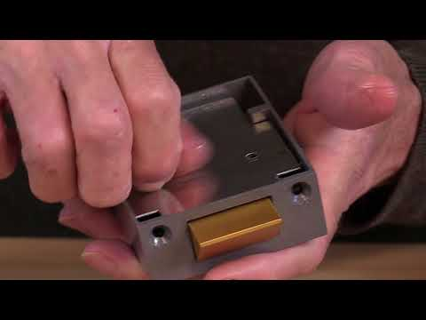 Yale Night Latch P89  P85   How to reverse the latch on the rim lock    LocksOnline Product Review