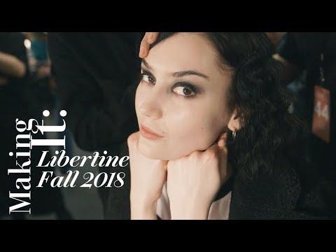 How Libertine's Fall 2018 Beauty Look Was Created