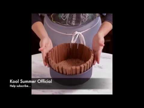 How to make Kit Kat Pie