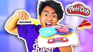 Download PLAYDOH KITCHEN CREATIONS Sizzlin' Stovetop (Roi's Toy Review) Video