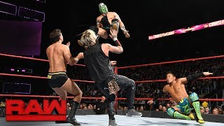 Kalisto & Akira Tozawa vs. Enzo Amore & Drew Gulak: Raw, Nov. 13, 2017