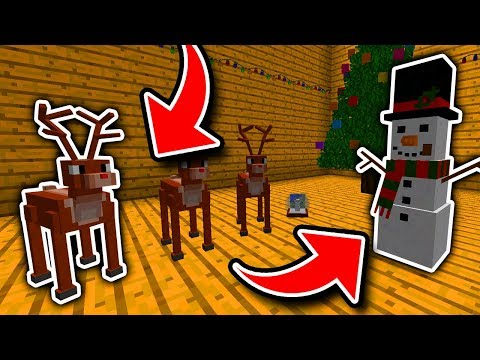 Minecraft : 6 Secret CHRISTMAS Things You Can Make! (Ps3/Xbox360/PS4/XboxOne/WiiU)