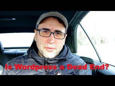 Dead End Wordpress Developer?