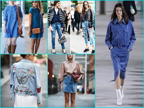 Latest Denim Trends And Jeans Outfits Ideas for Spring\Summer 2018