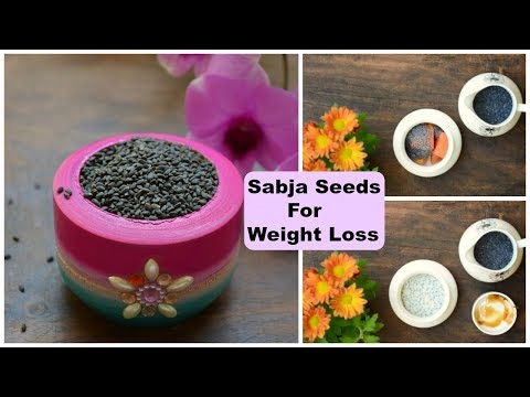 How To Lose Weight Fast With Sabja Seeds (Basil Seeds) | 3 Top Ways