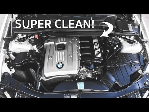 How To Detail Your BMW Engine Bay!