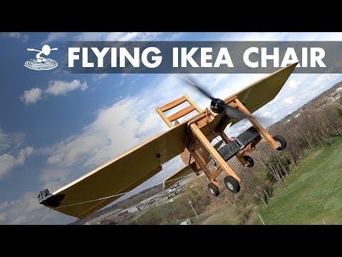 CHAIRPLANE! We made an IKEA chair fly!