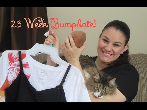 Week 23 BUMPDATE + Belly & Baby Clothes! Pregnancy After Having a Child with a Disability