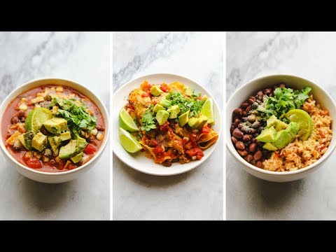 Easy 5 Minute Vegan Meals 🌯  (Microwave Only)