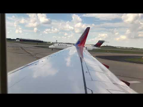 Southwest Takeoff from ATL to PUJ