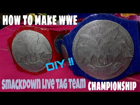 How To Make Wwe Tag Team Championship