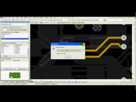 Altium Designer Tutorial - Differential Pair Routing