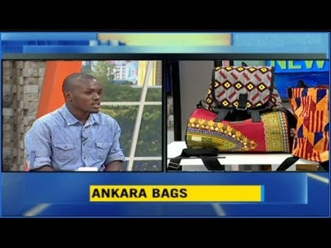 Get To Know The Youngest Entrepreneur Making Ankara Bags