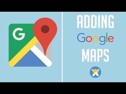 Adding Google Maps to Wix - Wix My Website