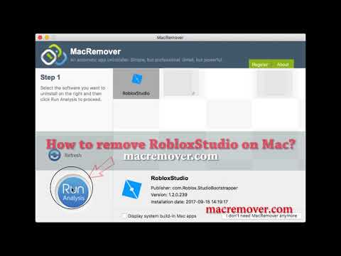 How To Remove RobloxStudio on your macOS and Mac OS X?