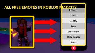 New Roblox Emotes Free - Mad City Free Emotes Videos 9tubetv