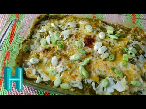 Chicken Enchilada Casserole! Hilah Cooking