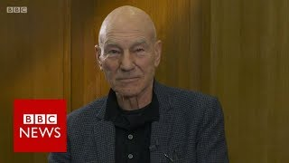 Sir Patrick Stewart on Brexit deal vote campaign - BBC News