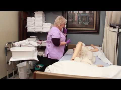Caregiver Skills: Cleaning Back and Buttocks