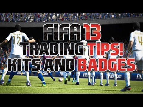 Build Up To Fifa 13 Ultimate Team Trading - Kits and Badges!