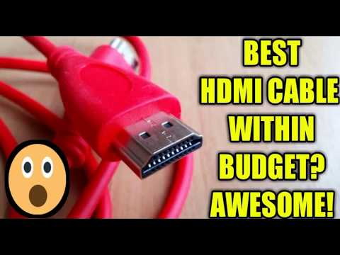 BEST HDMI CABLE REVIEW! BUY THE BEST ONE UNDER BUDGET кабель