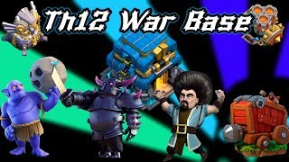 New Update Th11 War Base 2018 With 2 Replays Anti 2 Star New