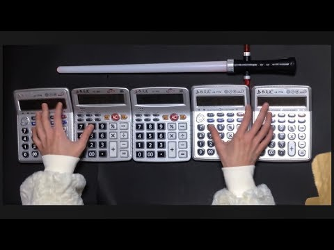 Star Wars Theme covered by calculators