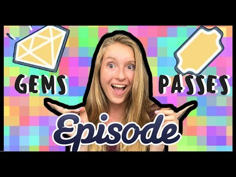 FREE GEMS AND PASSES ON EPISODE APP 2017!!