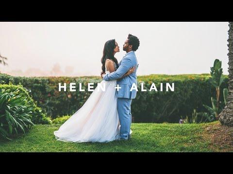 Helen & Alain: Wedding Film at La Venta Inn in Los Angeles, CA