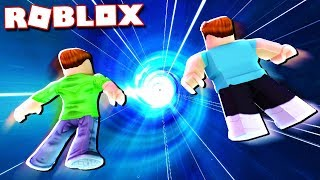 RACE AGAINST TIME OBBY IN ROBLOX!