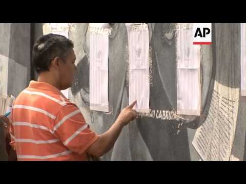 Voters, poll workers conduct simulated vote in preparation for national elections