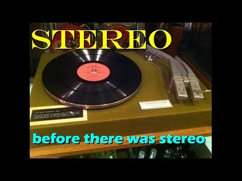 Stereo before there was stereo: 1950s Cook Binaural records