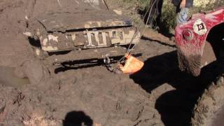 EXTREME MUD STUCK WINCH OUT by BSF Recovery Team