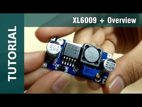 XL6009 | Arduino DC-DC Adjustable Step Up Booster Module Overview