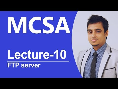 MCSA Bangla-10: How to create FTP server in windows server 2012?