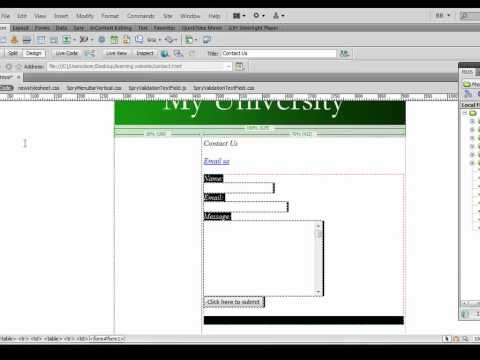 dreamweaver tutorial 15