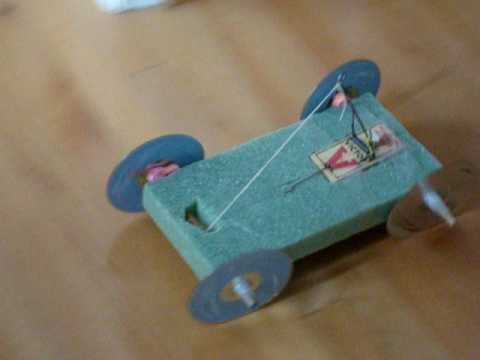 My Mousetrap Car...for science project...