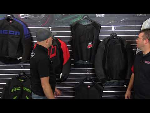 Icon Motorsports Leather Riding Jackets - 2018  Motorhead Sanctuary Hypersport