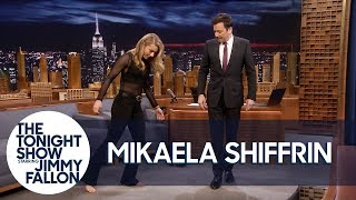 Download History-Making Ski Racer Mikaela Shiffrin Teaches Jimmy to Shuffle Dance Video