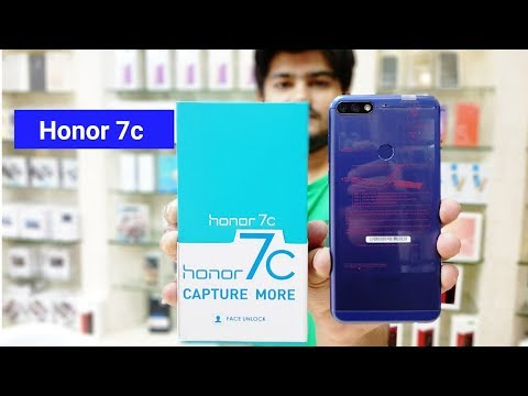 Honor 7c | Unboxing And First Look !