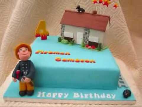 Kids Fireman Sam Kids Cake