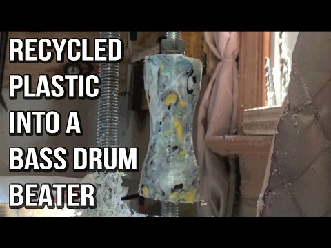 Recycled HDPE Bass Drum Beater