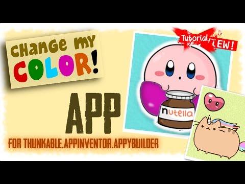 Color Changer App Tutorial For Thunkable / APp Inventor/ Appybuilder