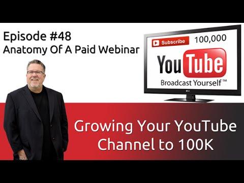 Hosting a Paid Webinar-100k Subscriber #48