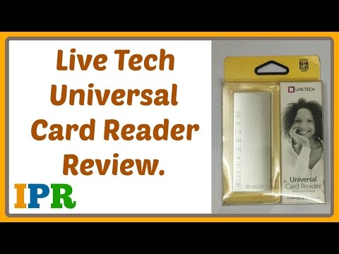 Live Tech Card Reader Review | Indian Product Reviewer