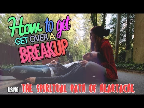 HOW TO GET OVER A BREAK UP! - THE SCIENCE OF HEARTBREAK (Spiritual Tips For Moving On Quickly)